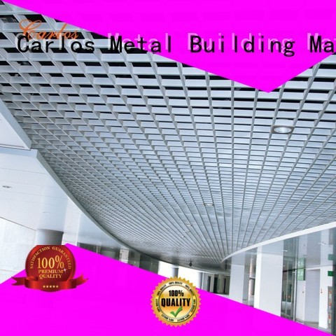 Carlos Brand netting grille perforated metal ceiling tiles suppliers square supplier