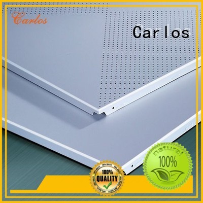 Carlos Brand metal grille baffle custom perforated metal ceiling tiles suppliers