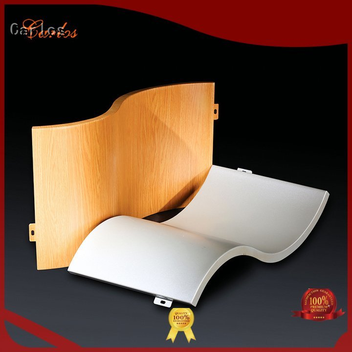 flat aluminum panels package art