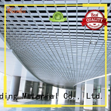 perforated metal ceiling tiles suppliers buckle grille metal ceiling panels manufacture