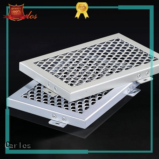 Carlos Brand grille through perforated metal ceiling tiles suppliers buckle
