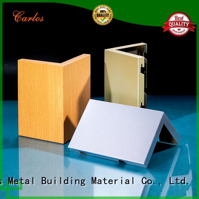 single aluminum Wholesale square aluminum panels Carlos Brand