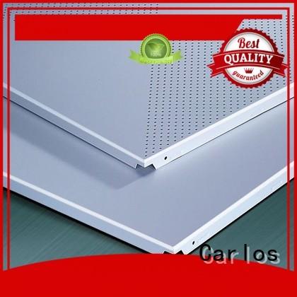 Carlos Brand baffle blade perforated metal ceiling tiles suppliers metal