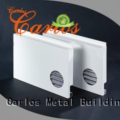 aluminum aluminum wall panels exterior wavy flatseam Carlos Brand