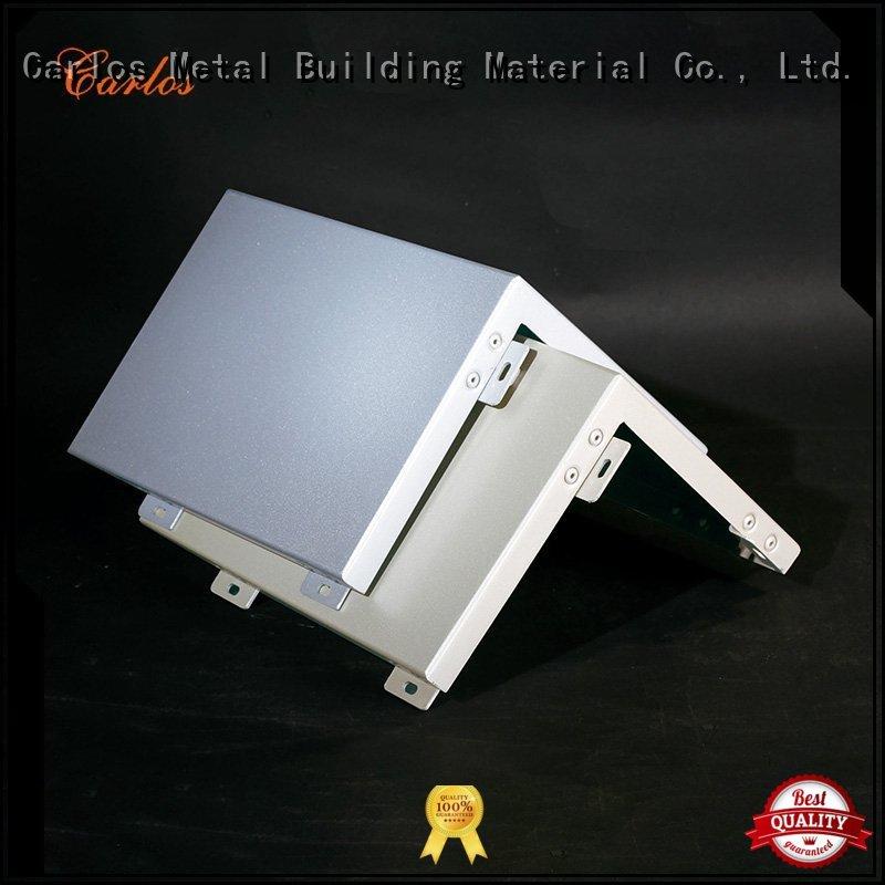 bag Custom square seamless aluminum panels Carlos flat