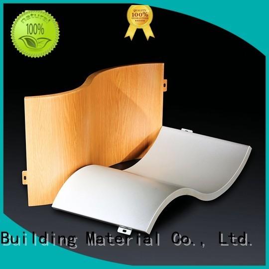 flat single aluminum panels hyperbolic Carlos Brand