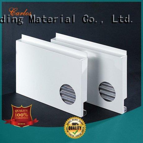 Carlos aluminum wall panels exterior board modeling hollow seamless