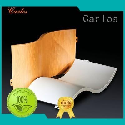 single art circular hyperbolic aluminum wall panels exterior Carlos Brand
