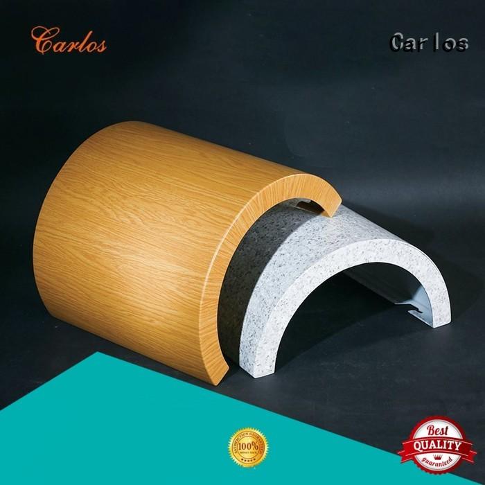 Carlos Brand modeling art aluminum wall panels exterior veneer