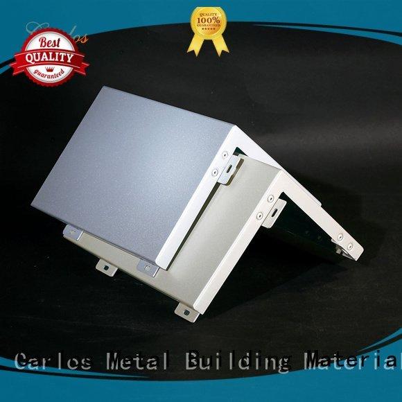 metal flat aluminum panels Carlos Brand