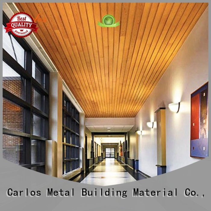 Hot netting metal ceiling panels ceilings baffle Carlos Brand