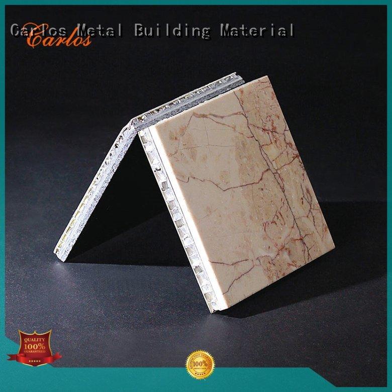 flat art aluminum honeycomb sheet square Carlos Brand
