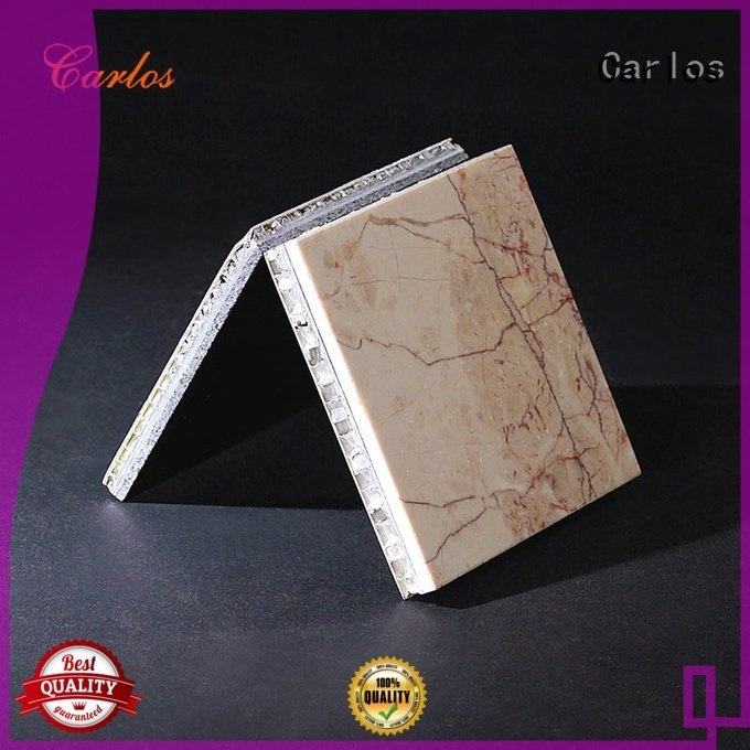 Carlos Brand circular aluminum honeycomb panels for sale package sewing