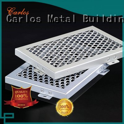 through blade Carlos perforated metal ceiling tiles suppliers