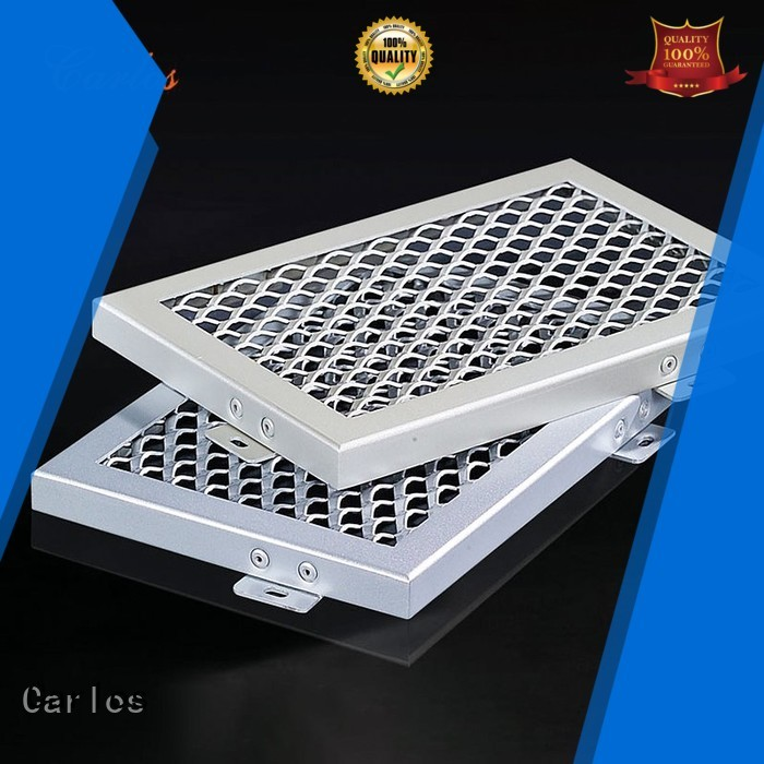 Carlos Brand netting baffle perforated metal ceiling tiles suppliers