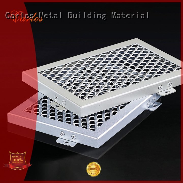 Carlos Brand ceiling perforated metal ceiling tiles suppliers through series