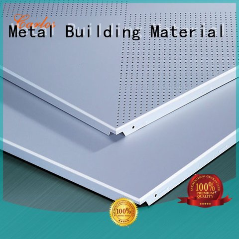 side series Carlos perforated metal ceiling tiles suppliers