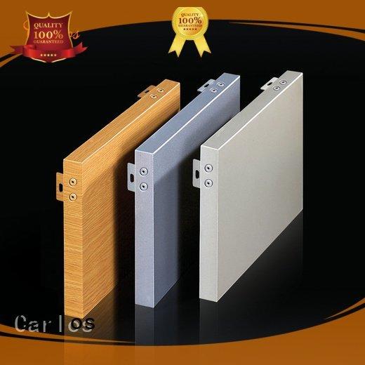 Carlos aluminum wall panels exterior aluminum square hyperbolic