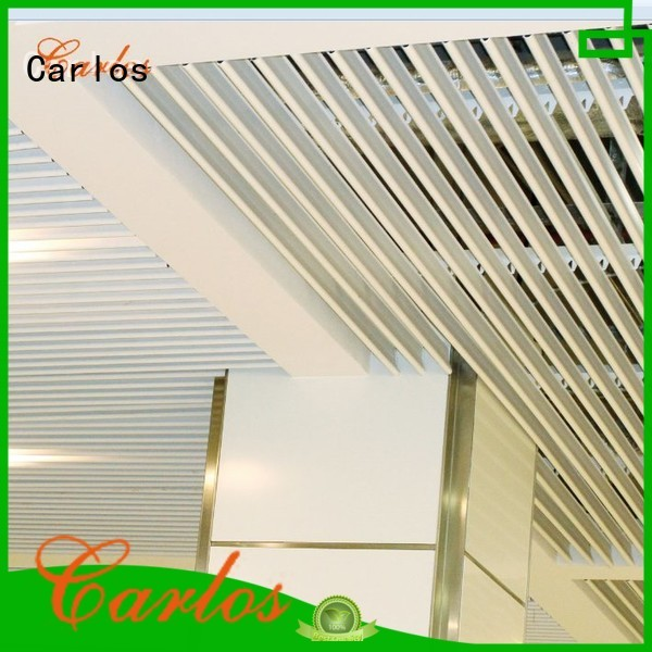ceilings square perforated metal ceiling tiles suppliers buckle baffle Carlos Brand