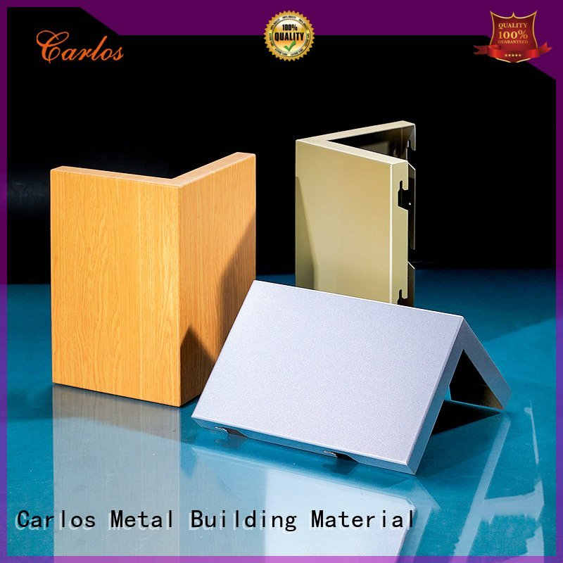 Carlos Brand bag aluminum wall panels exterior metal corrugated