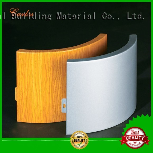 aluminum aluminum wall panels exterior round flatseam Carlos Brand