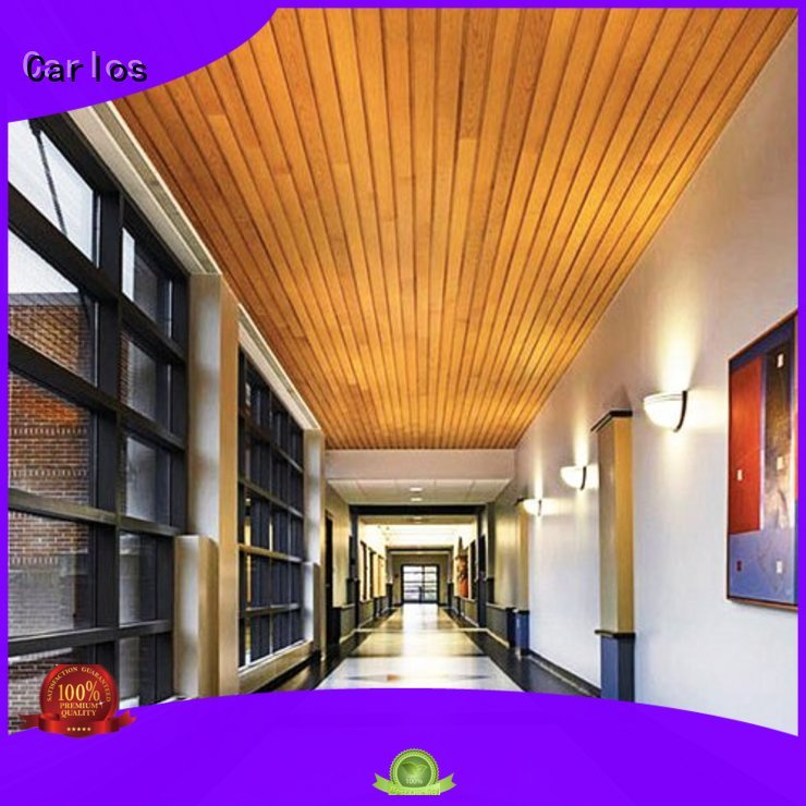 Carlos Brand square metal grille perforated metal ceiling tiles suppliers
