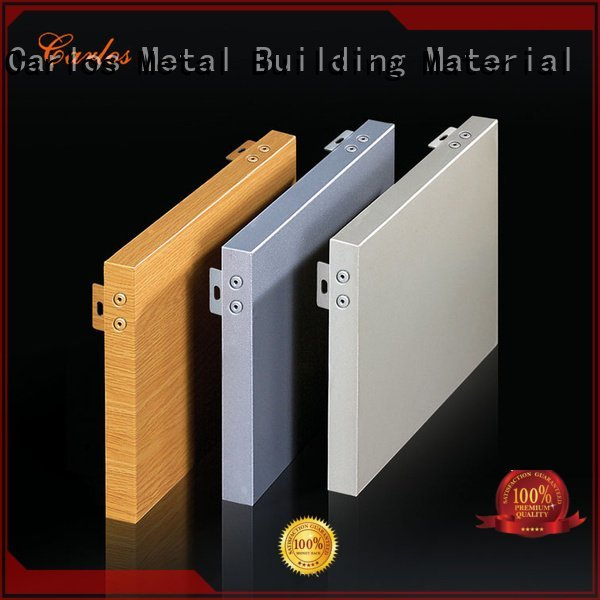 aluminum wall panels exterior corrugated aluminum panels Carlos Brand