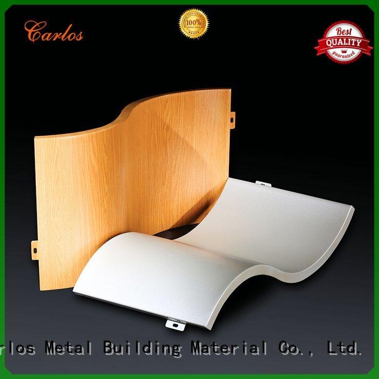 Carlos Brand circular aluminum panels