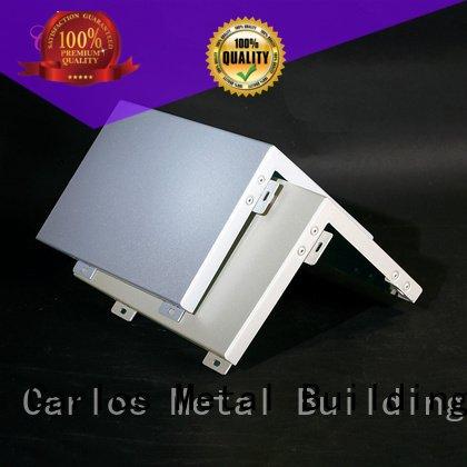 Wholesale column aluminum wall panels exterior Carlos Brand aluminum single veneer
