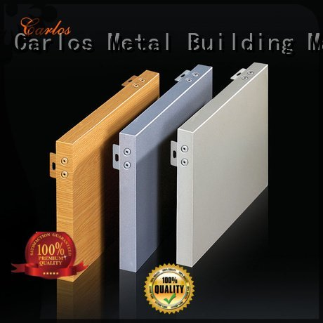 hollow aluminum panels flatseam Carlos
