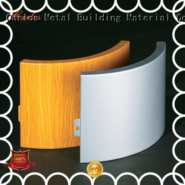 circular aluminum wall panels exterior board aluminum Carlos Brand