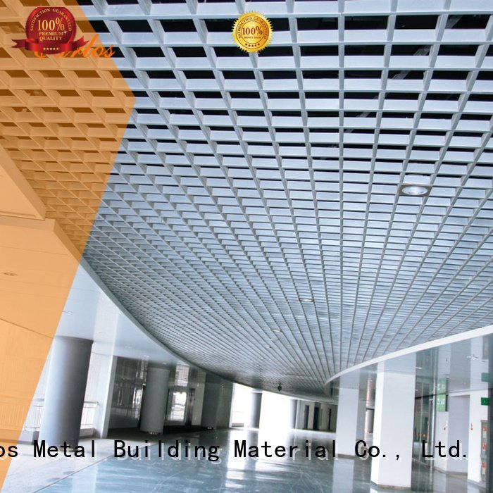 perforated metal ceiling tiles suppliers buckle side square grille
