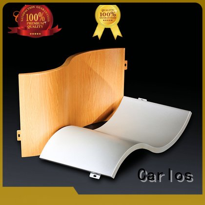 Carlos Brand flatseam flat aluminum wall panels exterior single column