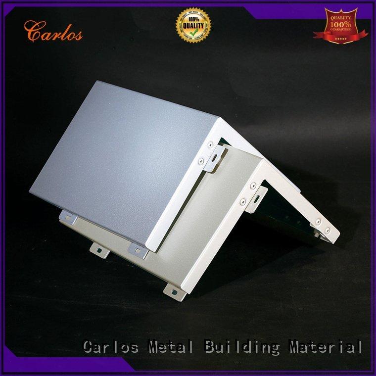 flatseam board aluminum wall panels exterior Carlos Brand