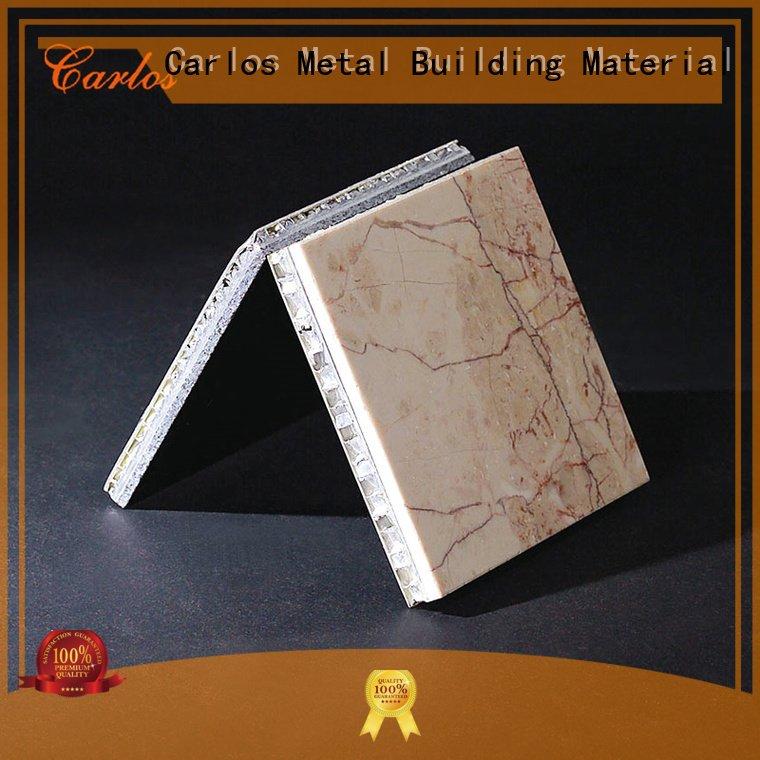 Carlos Brand flatseam aluminum honeycomb panels for sale column corrugated