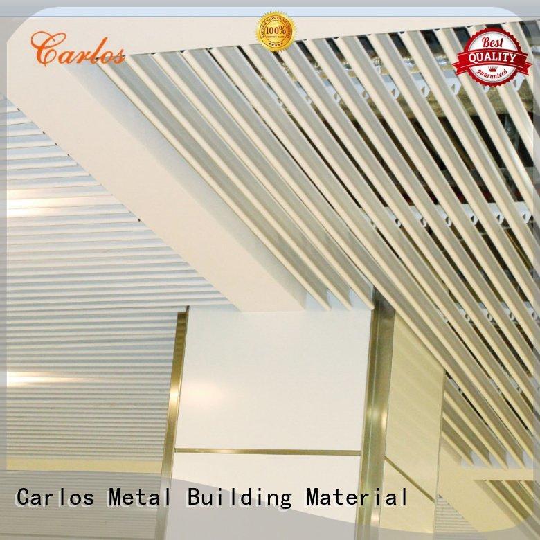 perforated metal ceiling tiles suppliers blade metal ceiling panels Carlos