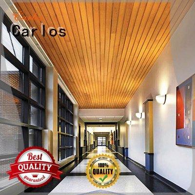 Carlos Brand square buckle metal metal ceiling panels