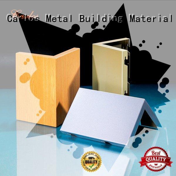 single aluminum wall panels exterior round Carlos Brand veneer aluminum