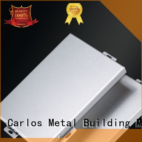 package metal round Carlos aluminum panels