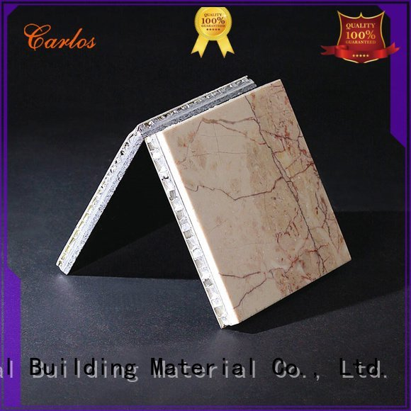 Hot aluminum honeycomb panels for sale corrugated Carlos Brand