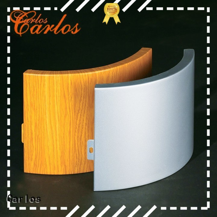 Carlos Brand art aluminum panels circular factory