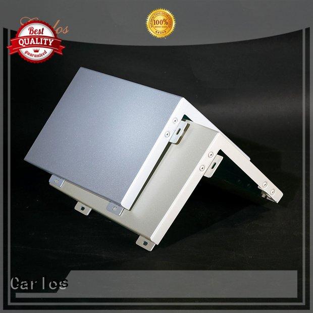 Custom aluminum panels flatseam sewing package Carlos