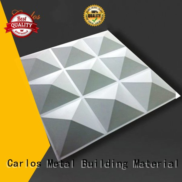 Hot aluminum panels bag Carlos Brand