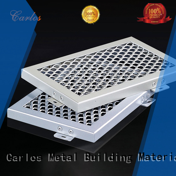perforated metal ceiling tiles suppliers ceilings metal Carlos Brand company