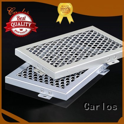 Carlos Brand side series metal ceiling panels manufacture
