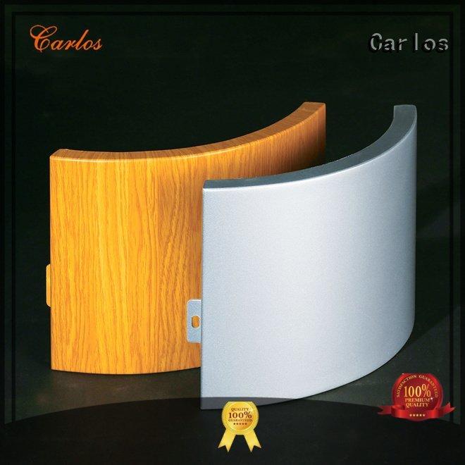 Carlos Brand panel aluminum panels