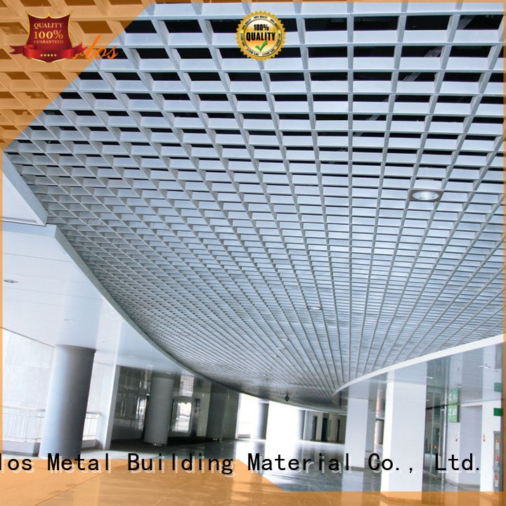 Grille Ceiling Series Perforated Metal Ceiling Ceilingpanel