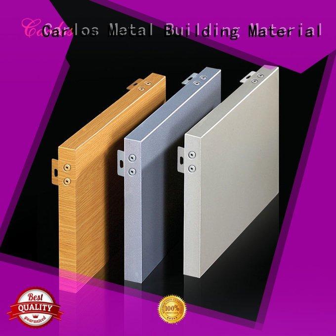aluminum wall panels exterior round veneer single Carlos