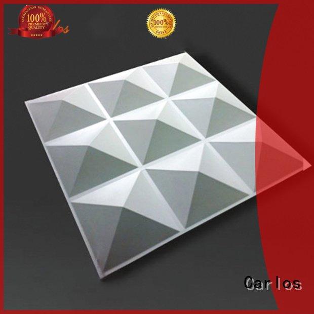 Hot aluminum panels columns Carlos Brand