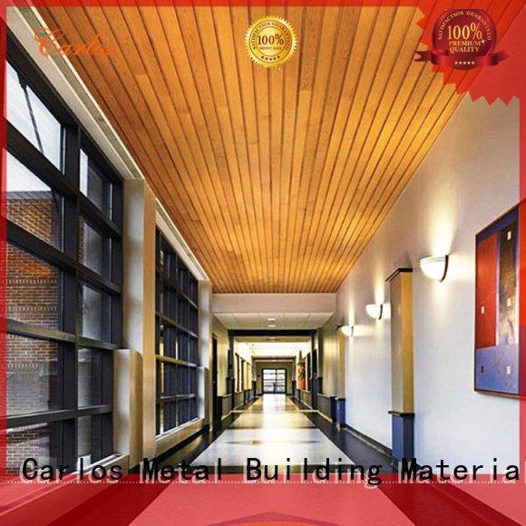 ceilings perforated metal ceiling tiles suppliers Carlos Brand
